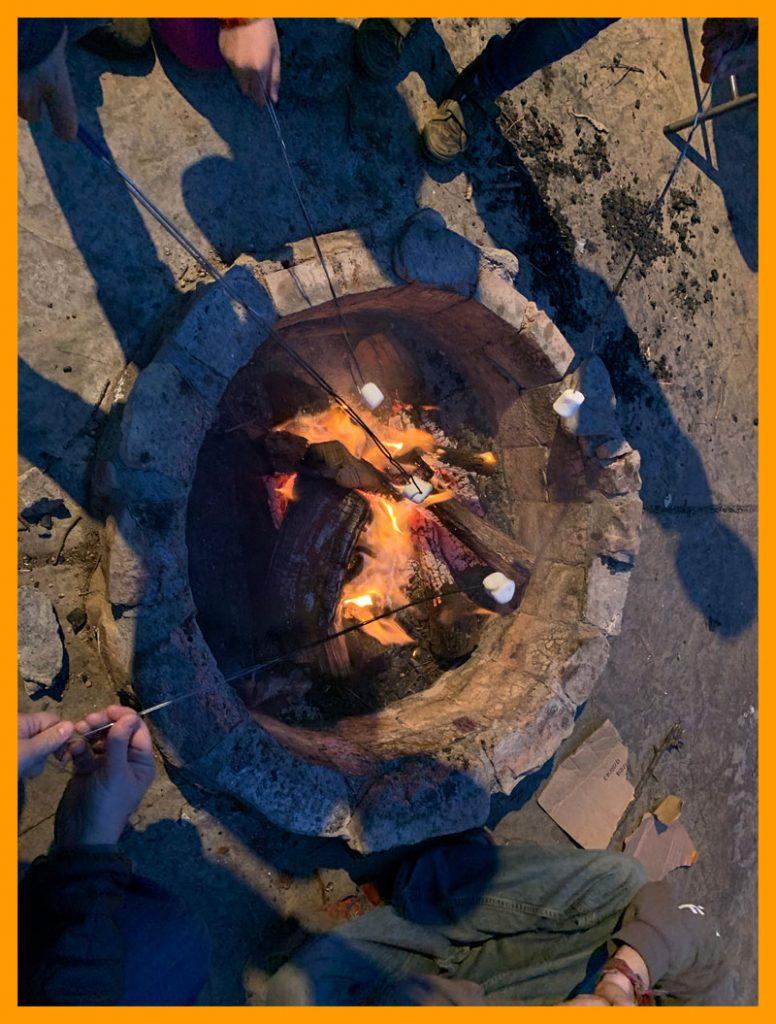 Campfire and Smores!